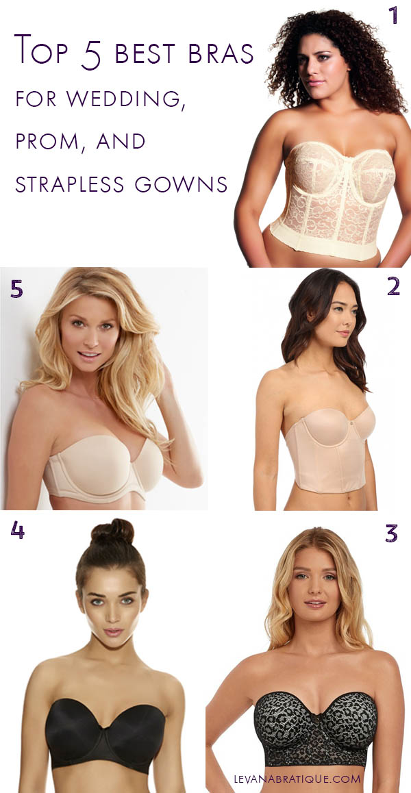 best bras for wedding gowns